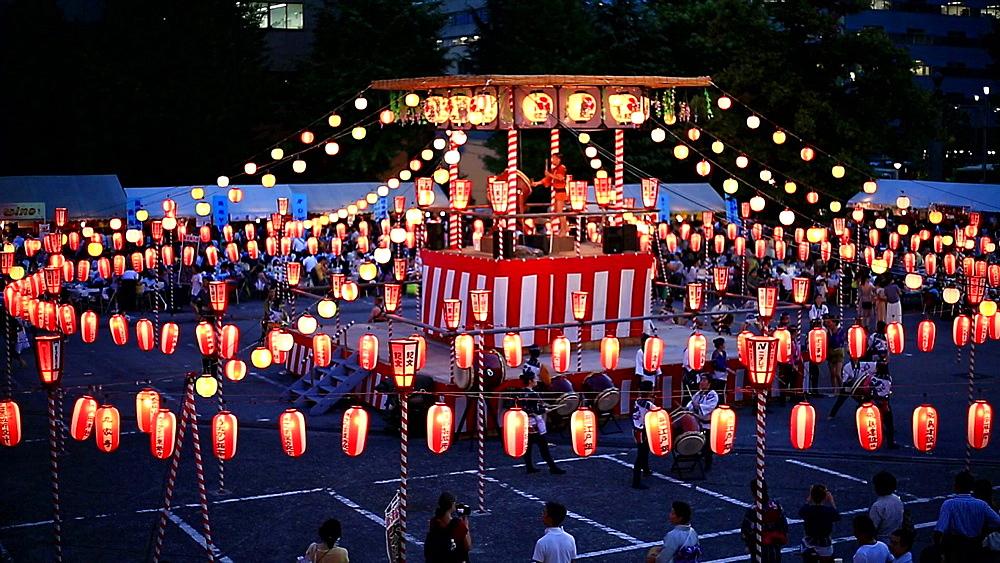 Japanese traditional summer festival - 1172-1603