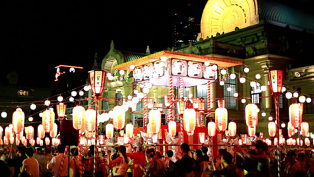 Japanese traditional summer festival - 1172-1634