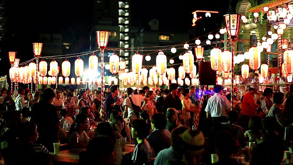 Japanese traditional summer festival - 1172-1635