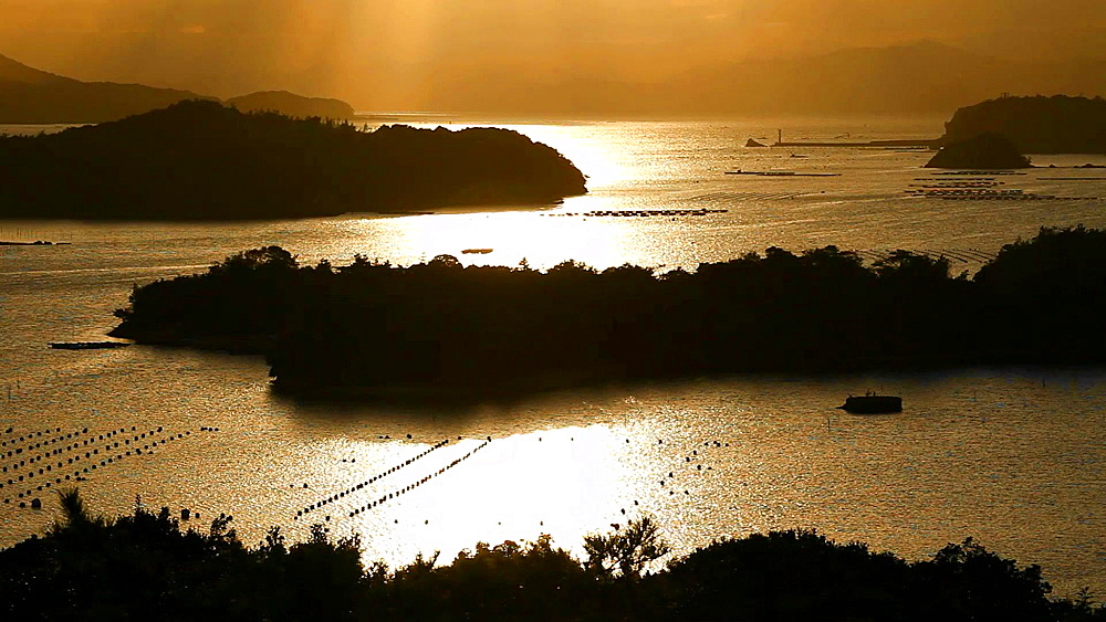 Sunset at Ise-Shima, Mie Prefecture, Japan - 1172-1666