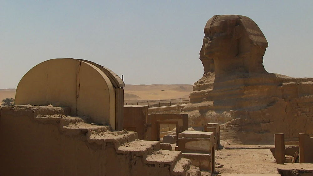 The Great Sphinx, sphinx of Giza, Cairo, Egypt, Africa - 1182-114