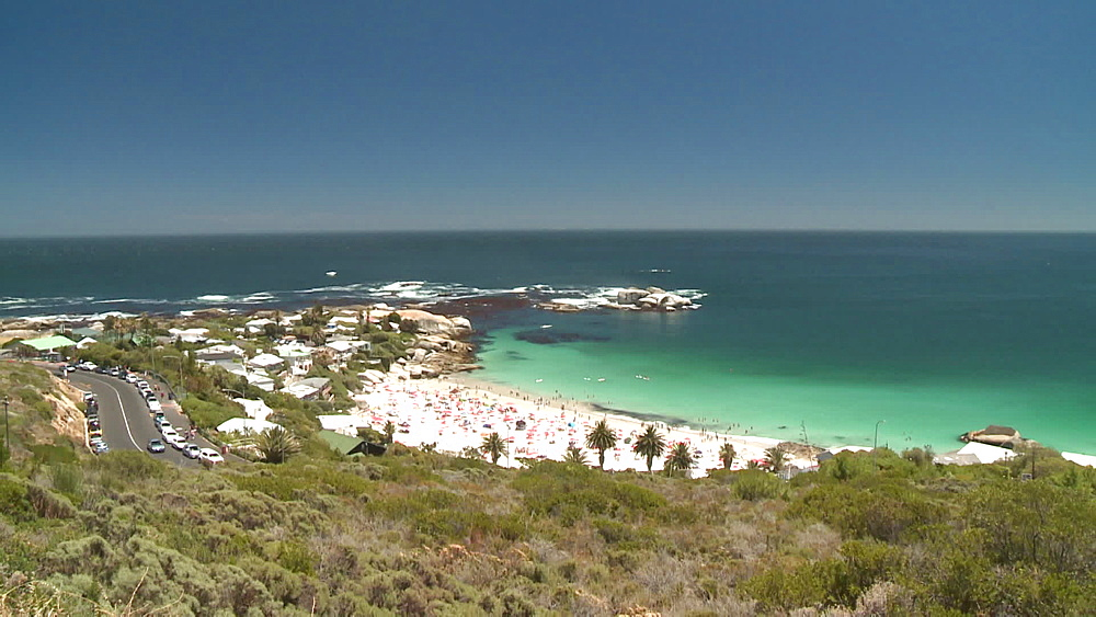 Clifton Beach and the Atlantic Ocean, Cape Town, South Africa - 1182-198