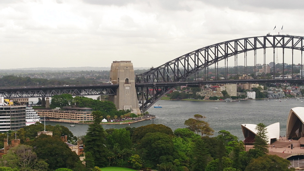 Sydney Opera House and Sydney Harbour Bridge, Sydney, New South Wales, Australia, Pacific - 1195-133