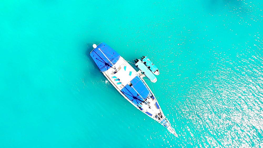Drone Footage of Koror Rock Islands - 1218-966