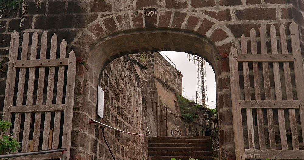 Exterior of Fort Federick Entrance, St. George's, Grenada, West Indies, Caribbean, Central America