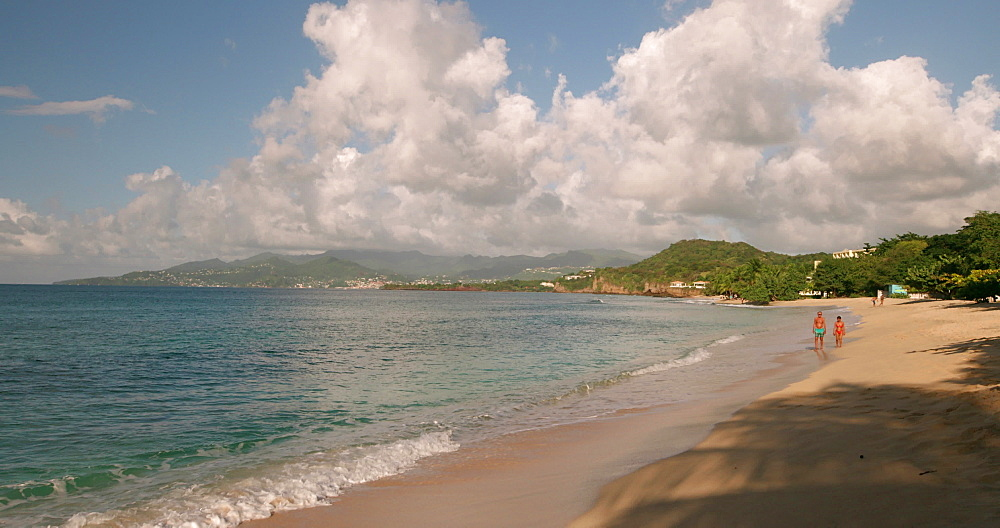 Magazine Beach shoreline, Grenada, West Indies, Caribbean, Central America