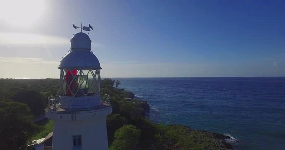 Negril lighthouse, Negril Point, Westmoreland, Jamaica, West Indies, Caribbean, Central America - 1239-14