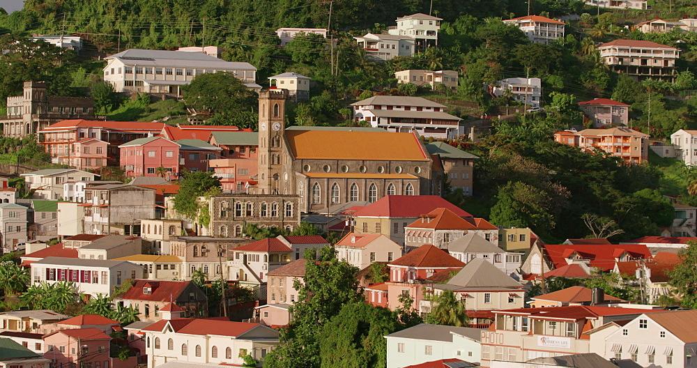 St George?s Panorama, Grenada, West Indies, Caribbean