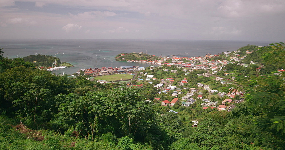 St Georges Panorama, St Georges, Grenada, West Indies, Caribbean
