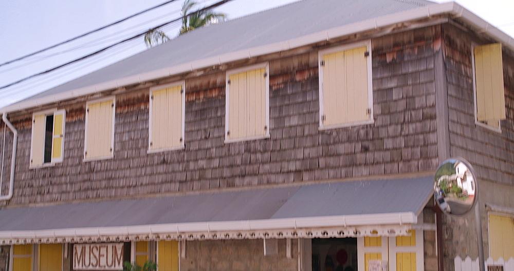 Carriacou Museum exterior, Hillsborough, Carriacou, Grenada, Caribbean. - 1239-33