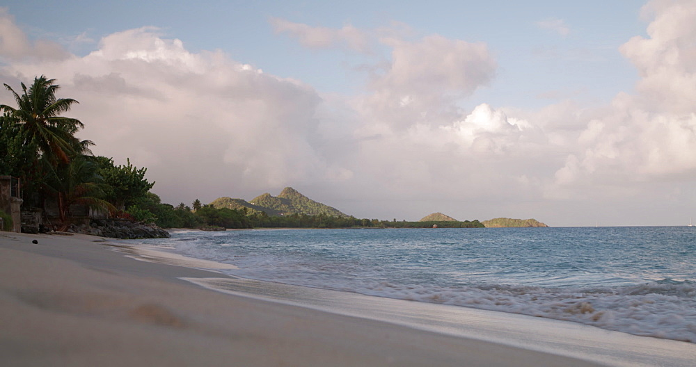 Beach on Carriacou Island, Grenada, West Indies, Caribbean, Central America