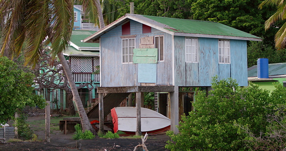 Shipbuilders hut, Windward, Carriacou, Grenada, West Indies, Caribbean, Central America