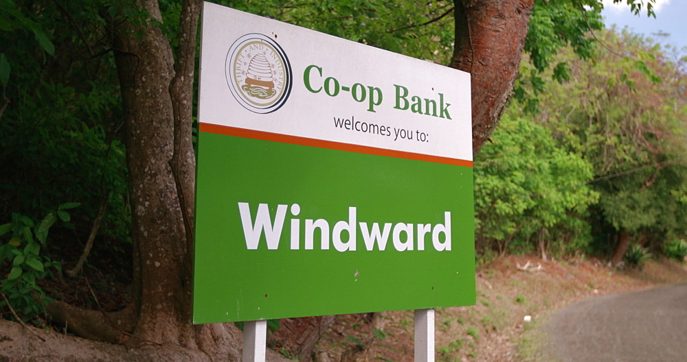 Welcome to Windward Sign, Windward, Carriacou, Grenada, West Indies, Caribbean, Central America