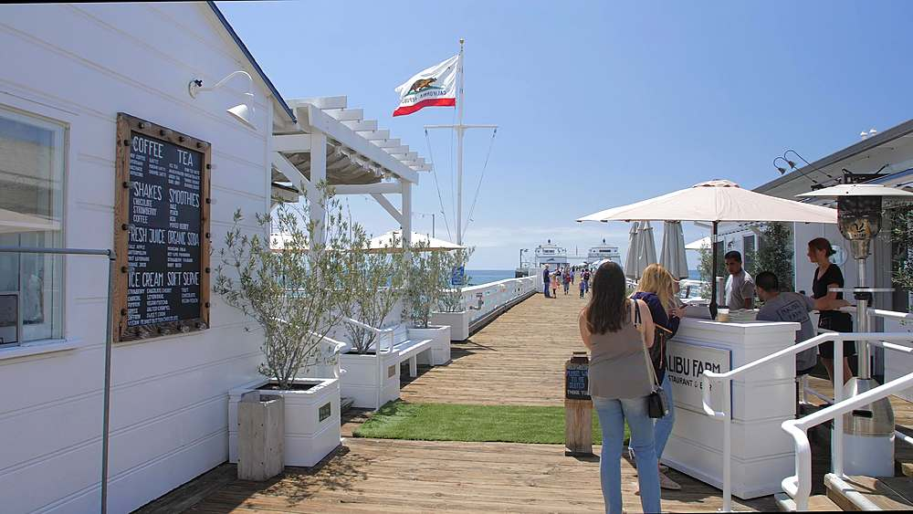 Malibu Pier, Malibu, California, United States of America, North America