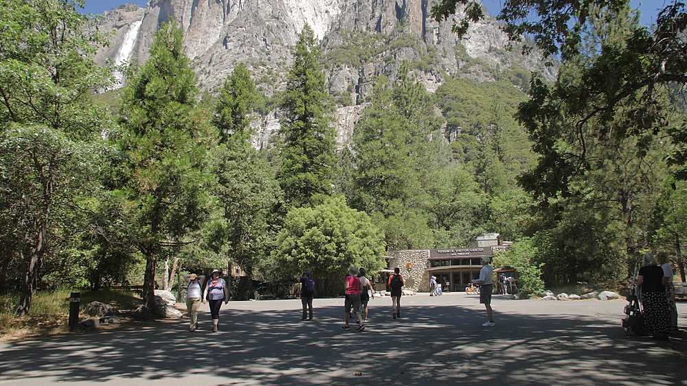 Yosemite Village, Yosemite National Park, UNESCO World Heritage Site, California, USA, North America