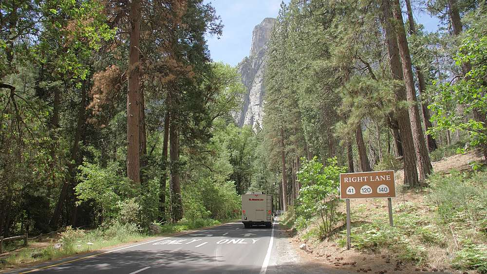 Yosemite Valley, UNESCO World Heritage Site, California, United States of America, North America