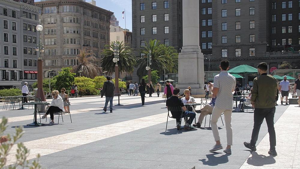 Union Square, Union Square, San Francisco, California, United States of America, North America