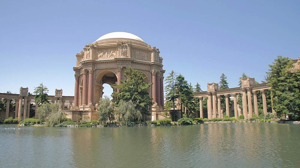 View of The Palace of Fine Arts Theatre, San Francisco, California, United States of America, North America - 1276-1298