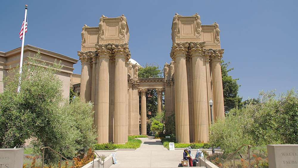 View of The Palace of Fine Arts Theatre, San Francisco, California, United States of America, North America - 1276-1302