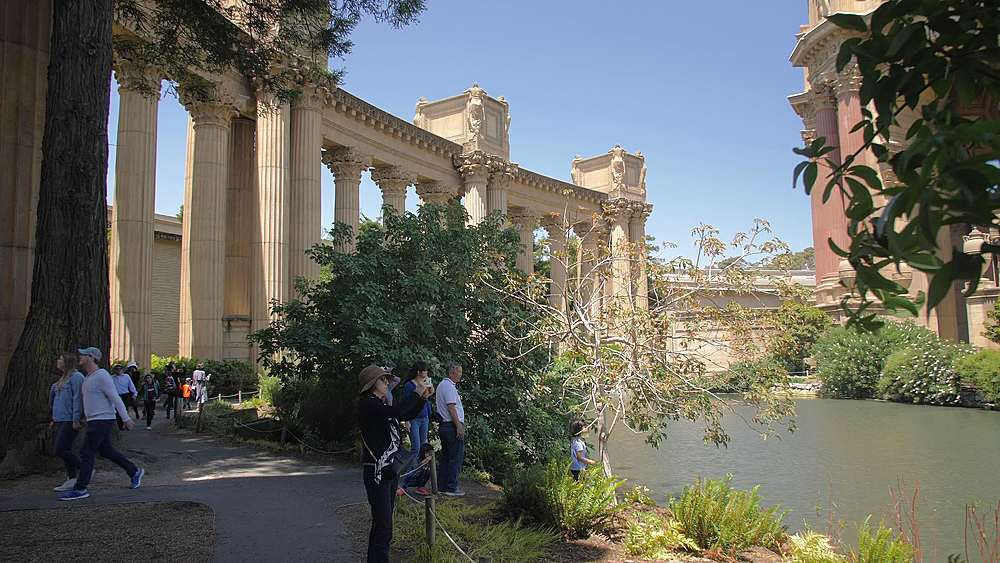 View of The Palace of Fine Arts Theatre, San Francisco, California, United States of America, North America - 1276-1304