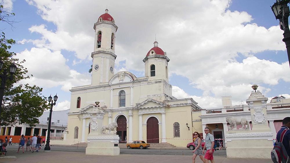Catedral de la Purisima Concepcion (Cienfuegos Cathedral), Cienfuegos, UNESCO World Heritage Site, Cuba, West Indies, Caribbean, Central America