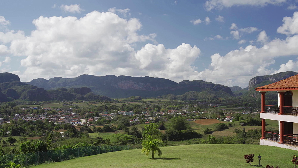 View of Vinales Valley, UNESCO World Heritage Site, Pinar del Rio Province, Cuba, West Indies, Caribbean, Central America