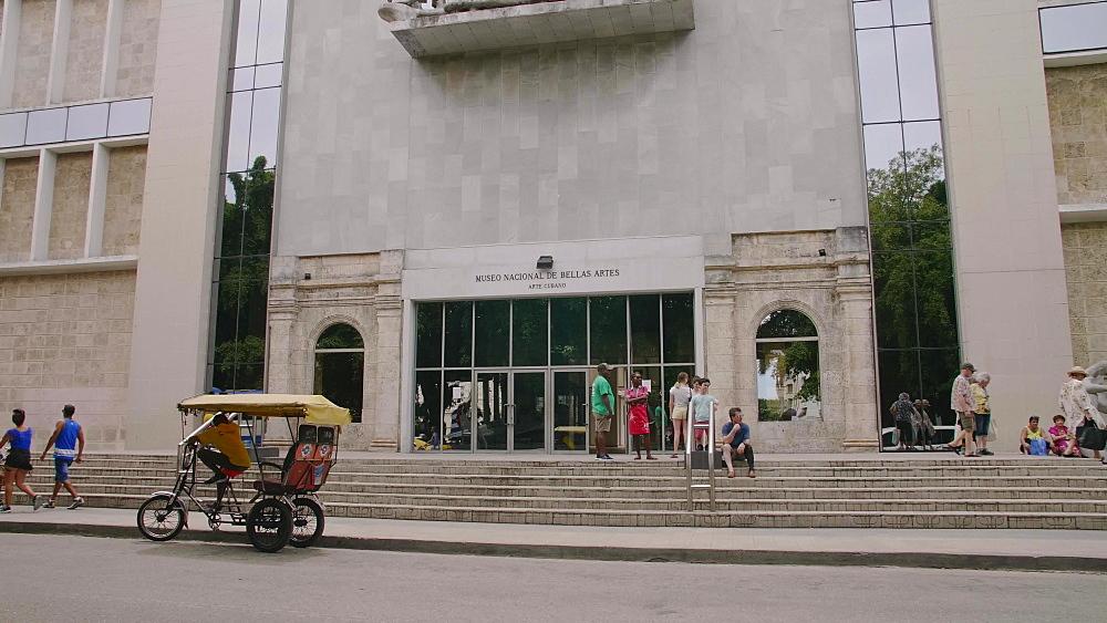 National Museum of Fine Arts in Old Havana, La Habana, Cuba, West Indies, Caribbean, Central America