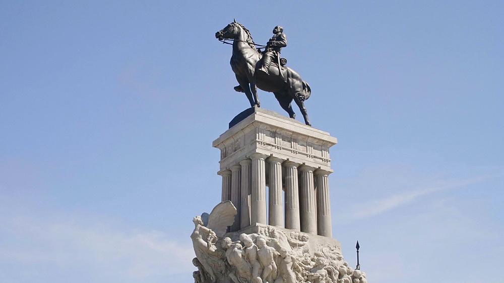 Maximo Gomez Monument, La Habana (Havana), Cuba, West Indies, Caribbean, Central America