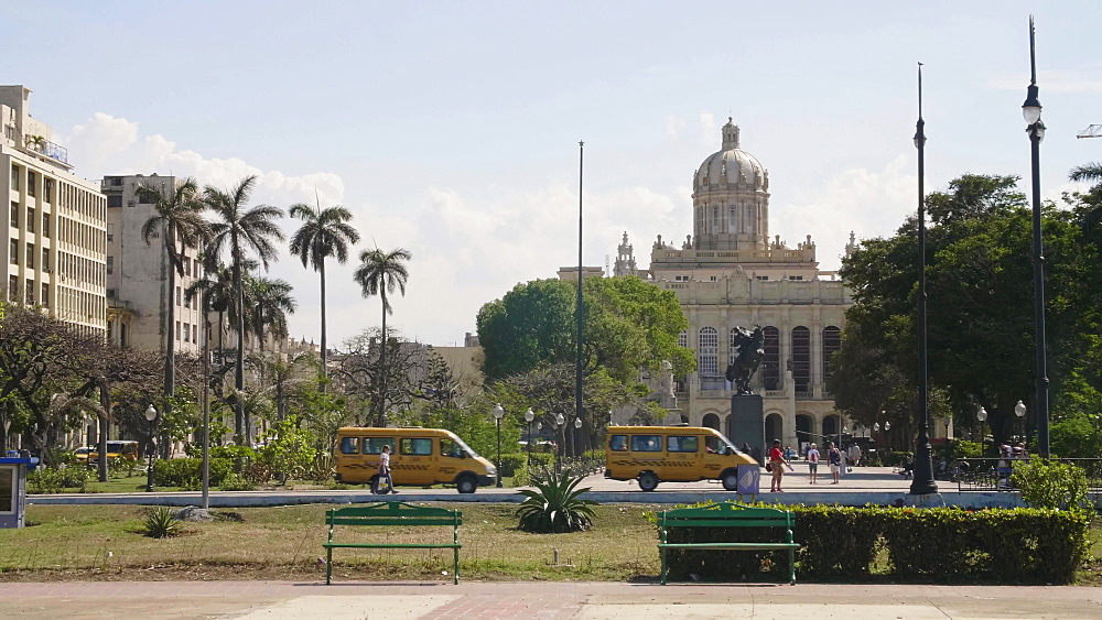 The former Presidential Palace, The Museum of the Revolution in Old Havana, Cuba, West Indies, Caribbean, Central America