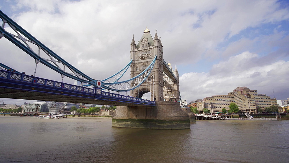 Tower Bridge and River Thames, Southwark, London, England, United Kingdom, Europe