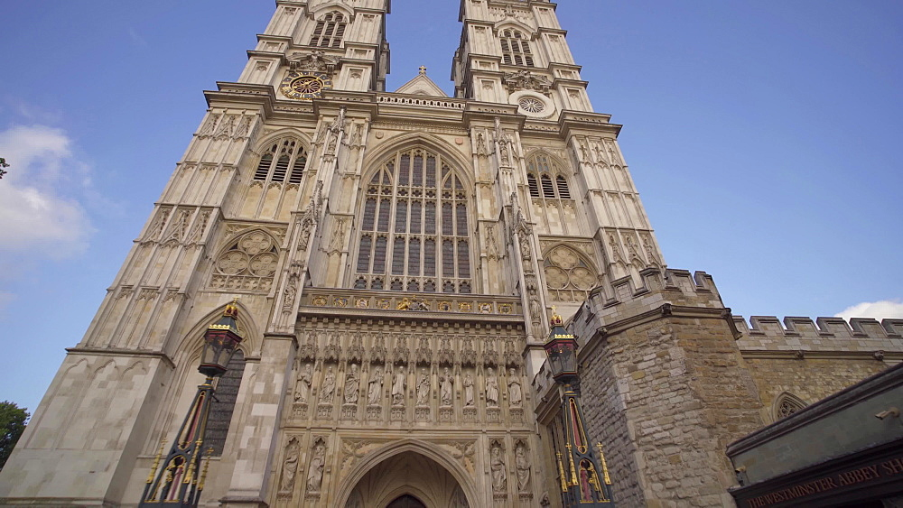 Video of Westminster Abbey, London, England, United Kingdom, Europe