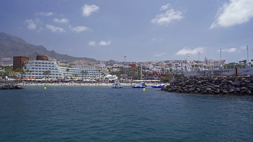 Yacht trip around Tenerife, Canary Islands, Spain, Atlantic, Europe