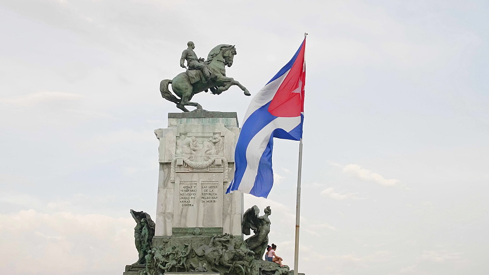 Monumento al General Antonio Maceo, Malecon, La Habana (Havana), Cuba, West Indies, Caribbean, Central America