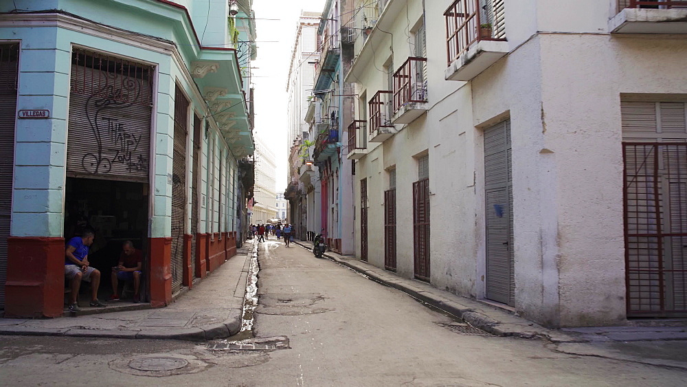 Streets of Havana, Cuba, West Indies, Caribbean, Central America