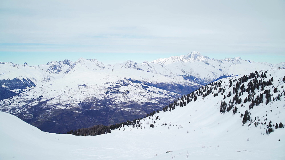La Plagne ski resort, Tarentaise, Savoy, French Alps, France, Europe