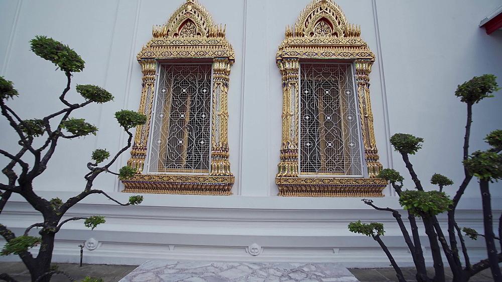 Wat Phra Chetuphon (Wat Pho) (Temple of the Reclining Buddha), Bangkok, Thailand, Southeast Asia, Asia
