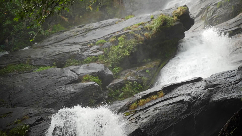 Video of Wachiratharn Waterfall, Doi Inthanon National Park, Chiang Mai, Thailand, Southeast Asia, Asia