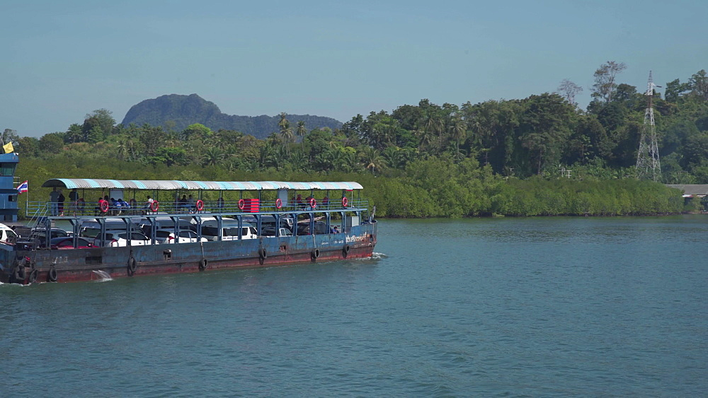 Ferry to Koh Lanta, Ko Lanta Island, Phang Nga Bay, Thailand, Southeast Asia, Asia