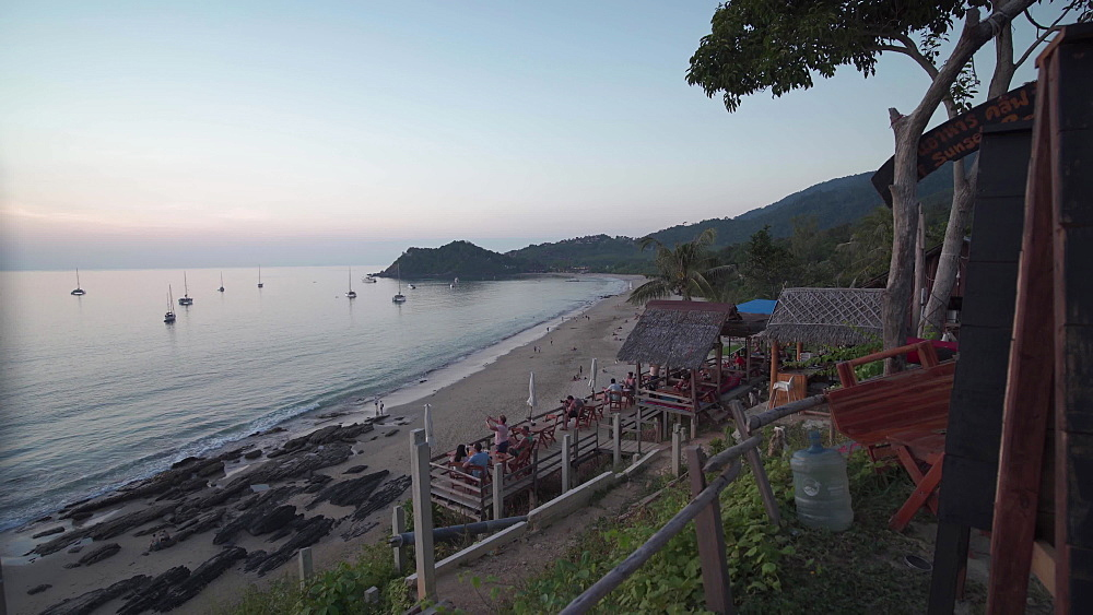 Sunset over Koh Lanta beach, Ko Lanta Island, Phang Nga Bay, Thailand, Southeast Asia