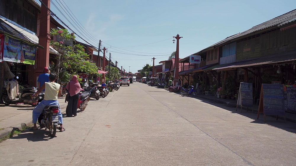 Historical Koh Lanta old town, Ko Lanta Island, Phang Nga Bay, Thailand, Southeast Asia