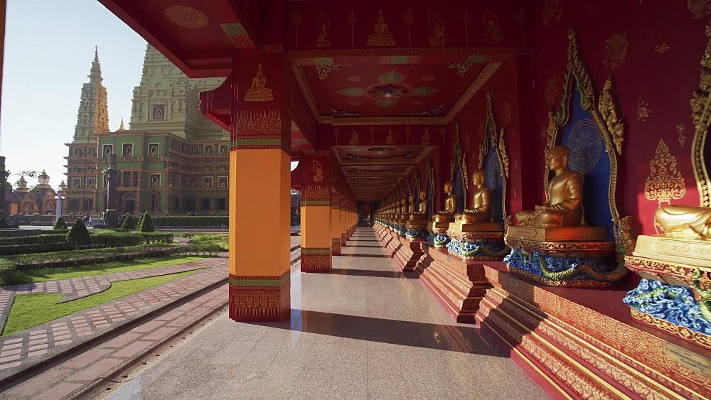 Wat Maha That Wachiramongkol (Wat Bang Thong) a famous temple in Krabi Province, Thailand, Southeast Asia
