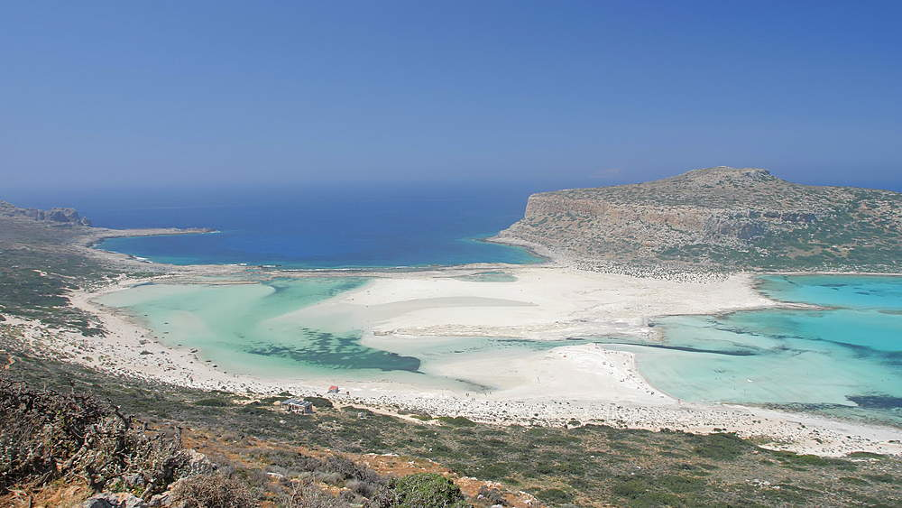 Balos Beach, Gramvoussa Peninsula, Balos Bay, Gramvousa Peninsula, Crete, Greek Islands, Greece, Europe