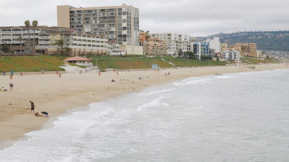 View of Redondo Beach, Los Angeles, LA, California, United States of America, North America - 1276-885