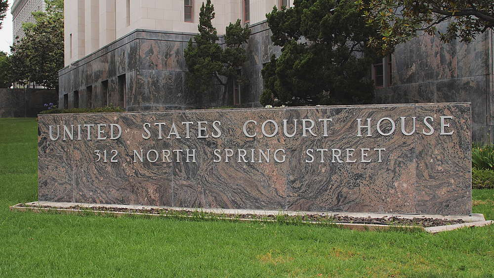 United States Court House, Los Angeles, LA, California, United States of America, North America - 1276-904