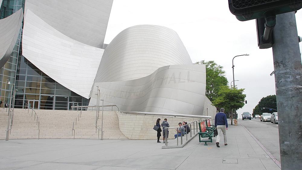 Walt Disney Concert Hall, Downtown, Los Angeles, LA, California, United States of America, North America - 1276-909