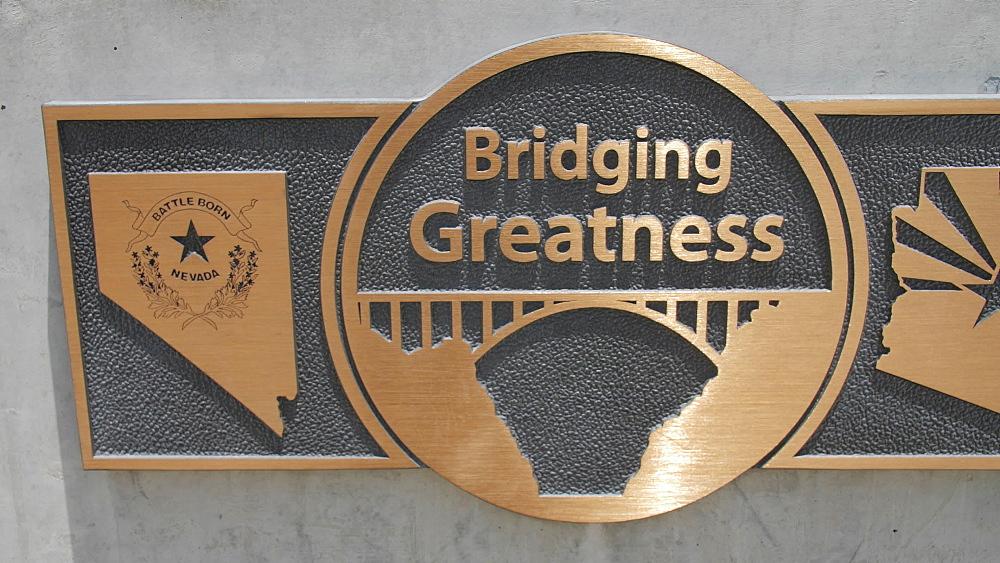 The Mike O Callaghan-Pat Tillman Memorial Bridge, Nevada/Arizona border, USA, North America - 1276-958