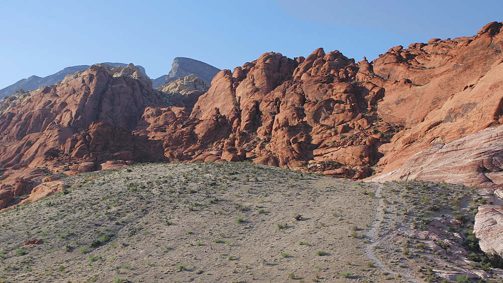 View of Red Rock Canyon National Conservation Area, Nevada, USA, North America - 1276-970