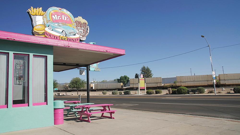 Mr. Dz Diner, Route 66, Kingman, Arizona, USA, America, United States, North America - 1276-974