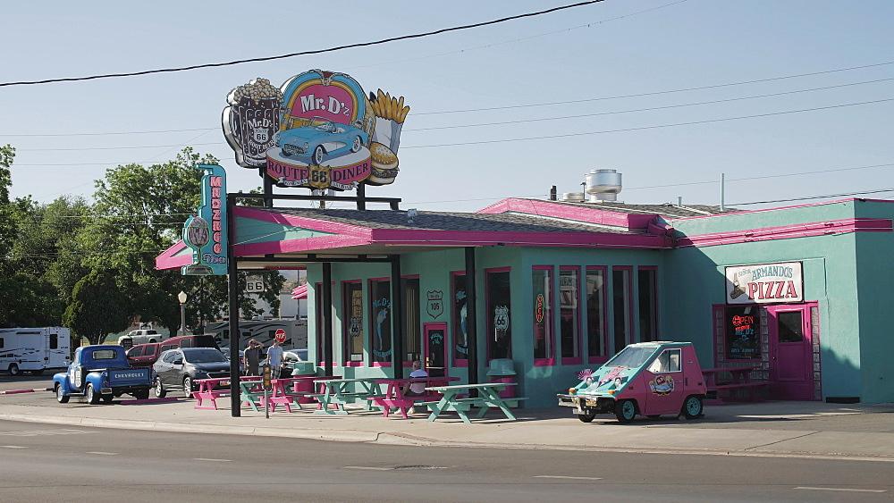 Mr. Dz Diner, Route 66, Kingman, Arizona, USA, America, United States, North America - 1276-976