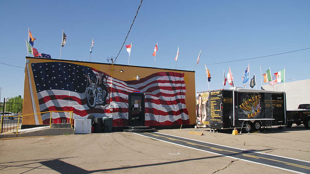 Historic building on Route 66, Kingman, Arizona, USA, America, United States, North America - 1276-977